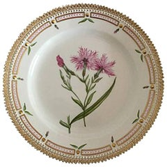 Royal Copenhagen Flora Danica Luncheon Plate No. 3550