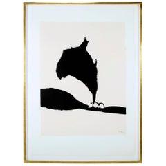"""""""Africa 9"""" Silkscreen by Robert Motherwell"""