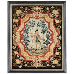 George II Needlework Picture