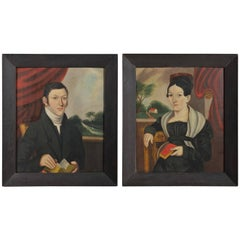 Pair of Portraits, Husband and Wife, William Bonnell, American