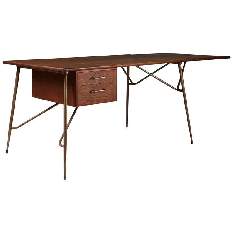 Desk Designed by Börge Mogensen for Söborg, Denmark, 1952