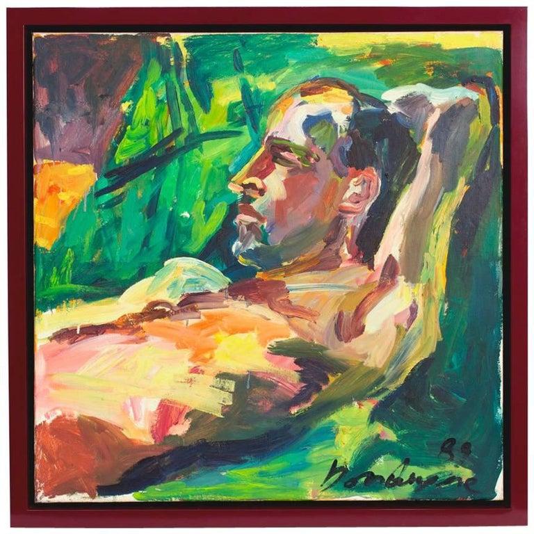 """The Summer Nap"" Oil on Canvas, 1989"