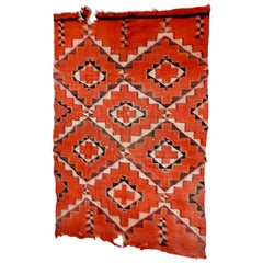 Early 20th Century Handwoven Navajo Transitional Textile
