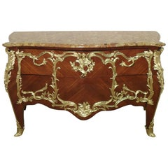 French Louis XV Style Commode by E Kahn