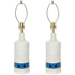 Bitossi Bone White Ceramic Lamps