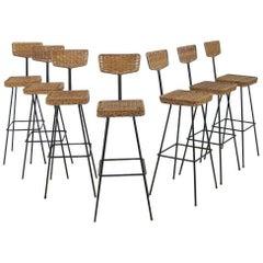 Set of Bar Stools by Müller Boulevard Möbel
