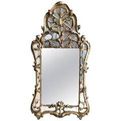 Louis XV Period Giltwood Mirror, circa 1760