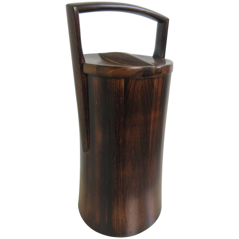 Jens Quistgaard for Dansk Rosewood Ice Bucket  1