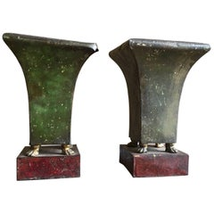 Pair of French Empire Period Tole Jardinière