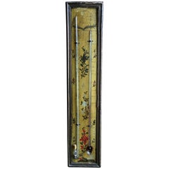 18th Century Louis XVI Period Thermometer and Barometer