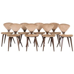 Set of 8 Mid-Century Modern Norman Cherner for Plycraft Dining Chairs