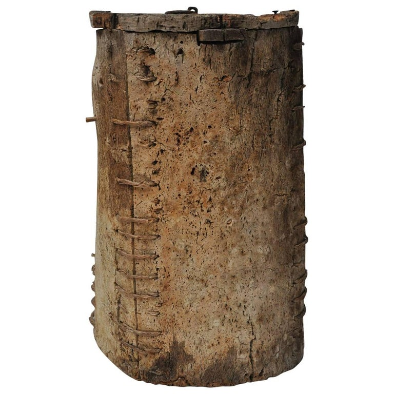 18th Century Spanish Cork Beehive