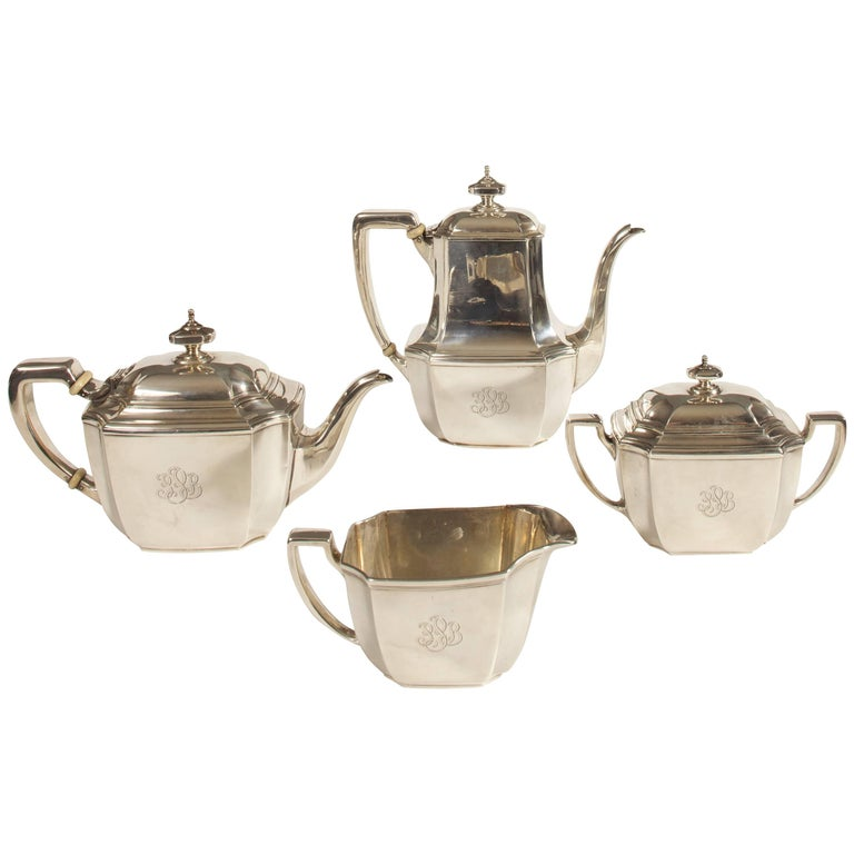 Sterling Tiffany Coffee and Tea Service