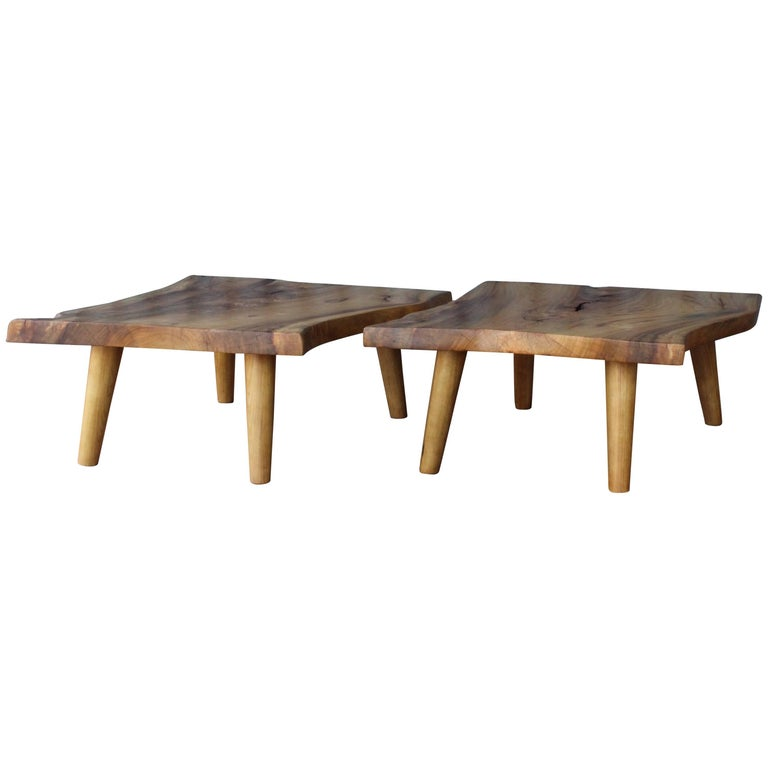 Live Edge Camphor Wood Coffee Tables For Sale