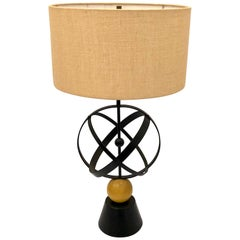 American Midcentury Atomic Age Table Lamp