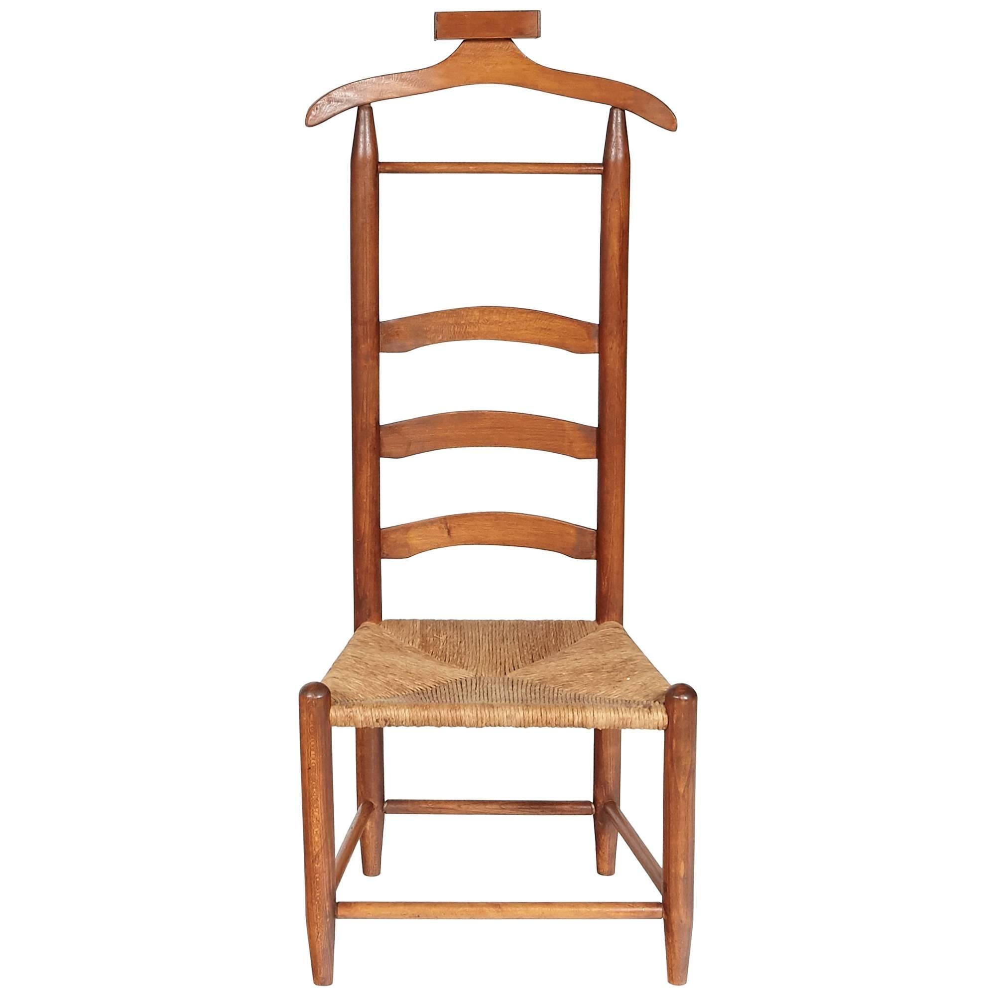 Merveilleux Menu0027s Rush Seat Bedroom Valet For Sale