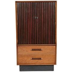 1960s Lane Furniture Walnut and Rosewood Dresser
