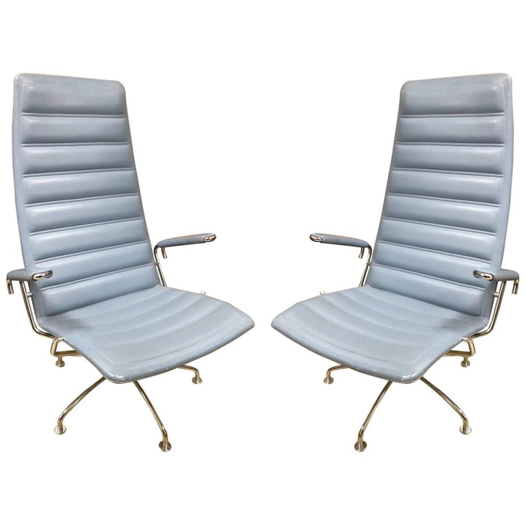 Pair of Lounge Chairs by Jens Ammundsen for Fritz Hansen