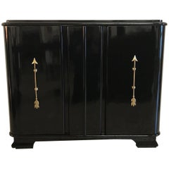 Fine 1950s French Art Deco Sideboard