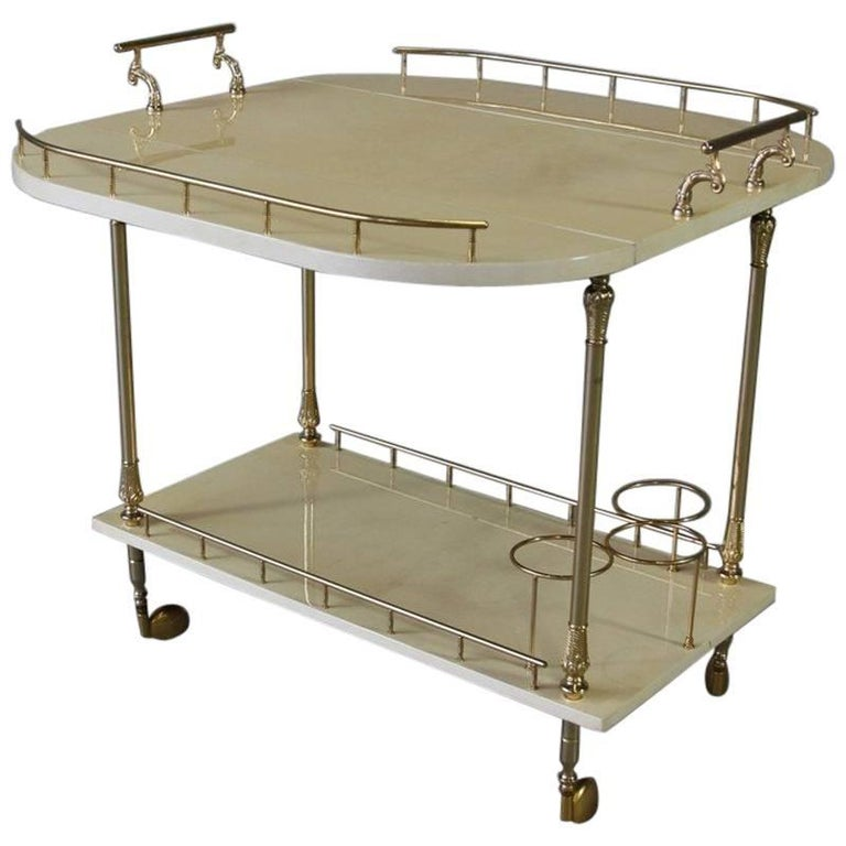 Bar Trolley by Aldo Tura, 1960s