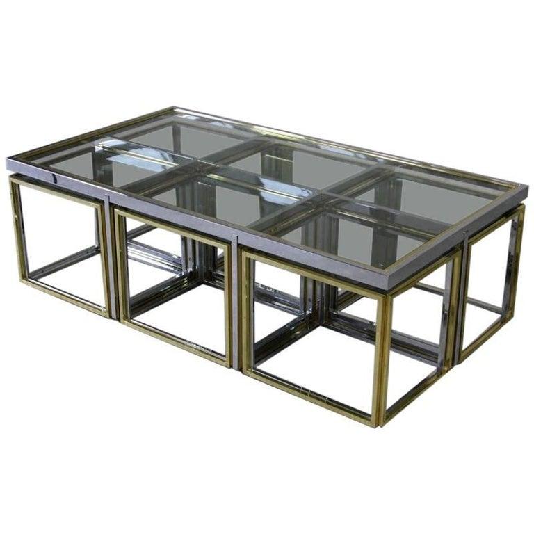 Romeo REGA Style Coffee Table, 1970s