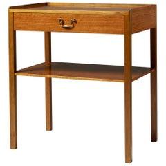 Side Table Designed by Josef Frank for Svenskt Tenn, Sweden, 1950s