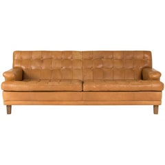 Leather Sofa by Arne Norell