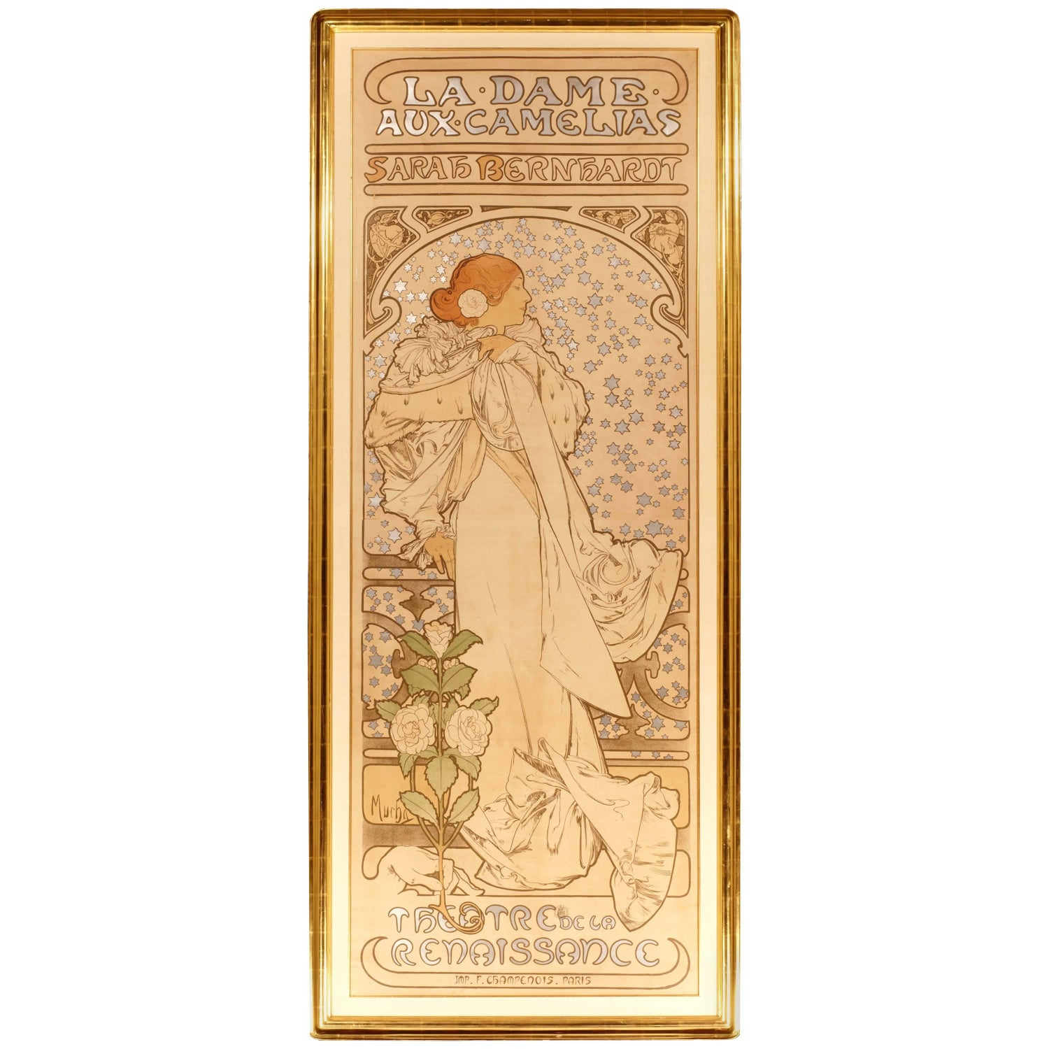 Art Nouveau Wall Decorations - 216 For Sale at 1stdibs