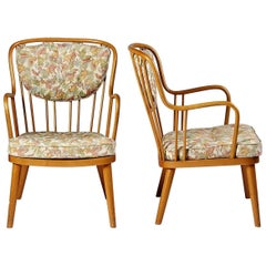 """Pair of Armchairs """"the Lounge Chair"""" Model 1774 Designed by Aage Herman Olsen"""