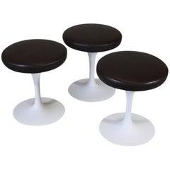 Set of Three Saarinen Stools, Knoll International