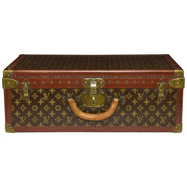 Louis Vuitton LV Monogram Suitcase c1945