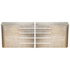 Pair of American Art Deco Chests of Drawers