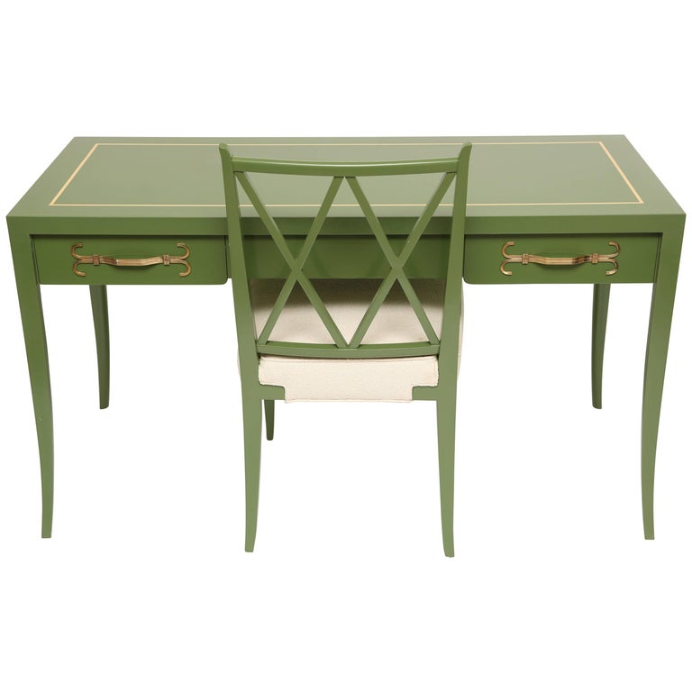 Tommi Parzinger Desk and Chair