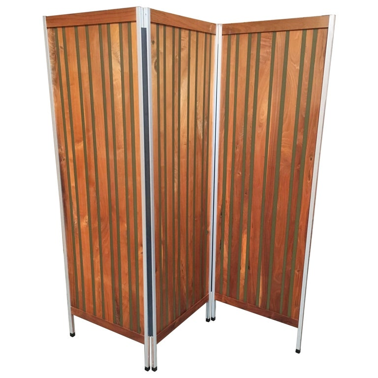 20th Century Three Panel Room Divider