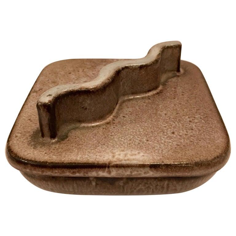 Lee Rosen Design Technics 1960s Ceramic Box For Sale
