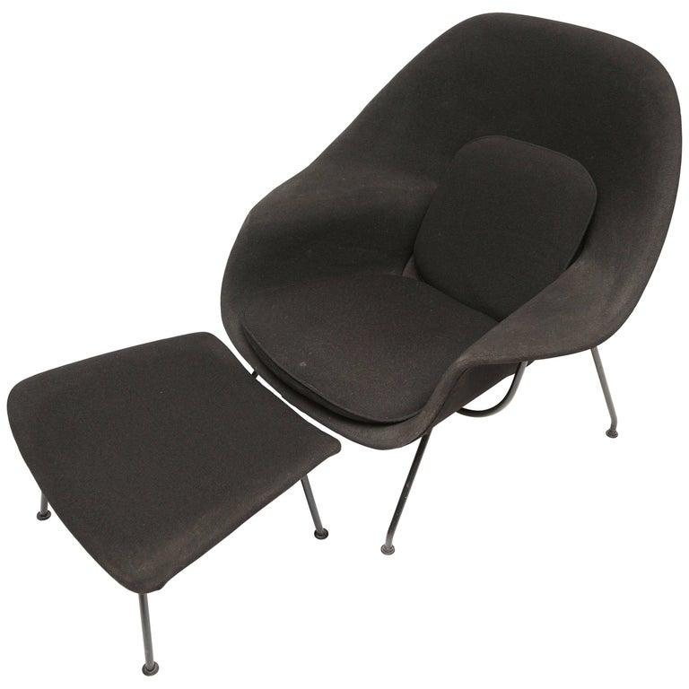 Eero Saarinen Womb Chair and Ottoman for Knoll