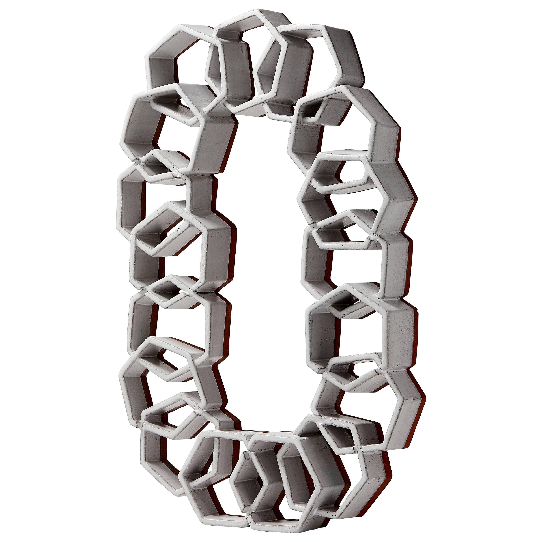 Hexagon Ceramic Sculpture by Ben Medansky