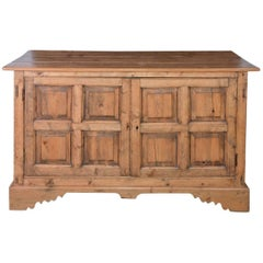 Large Antique Pine Sideboard or Cabinet