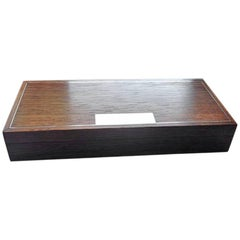 Hans Hansen Sterling Silver and Rosewood Box