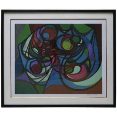 Roberto Burle Marx Abstract Print