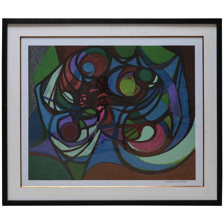 Roberto Burle Marx Abstract Print