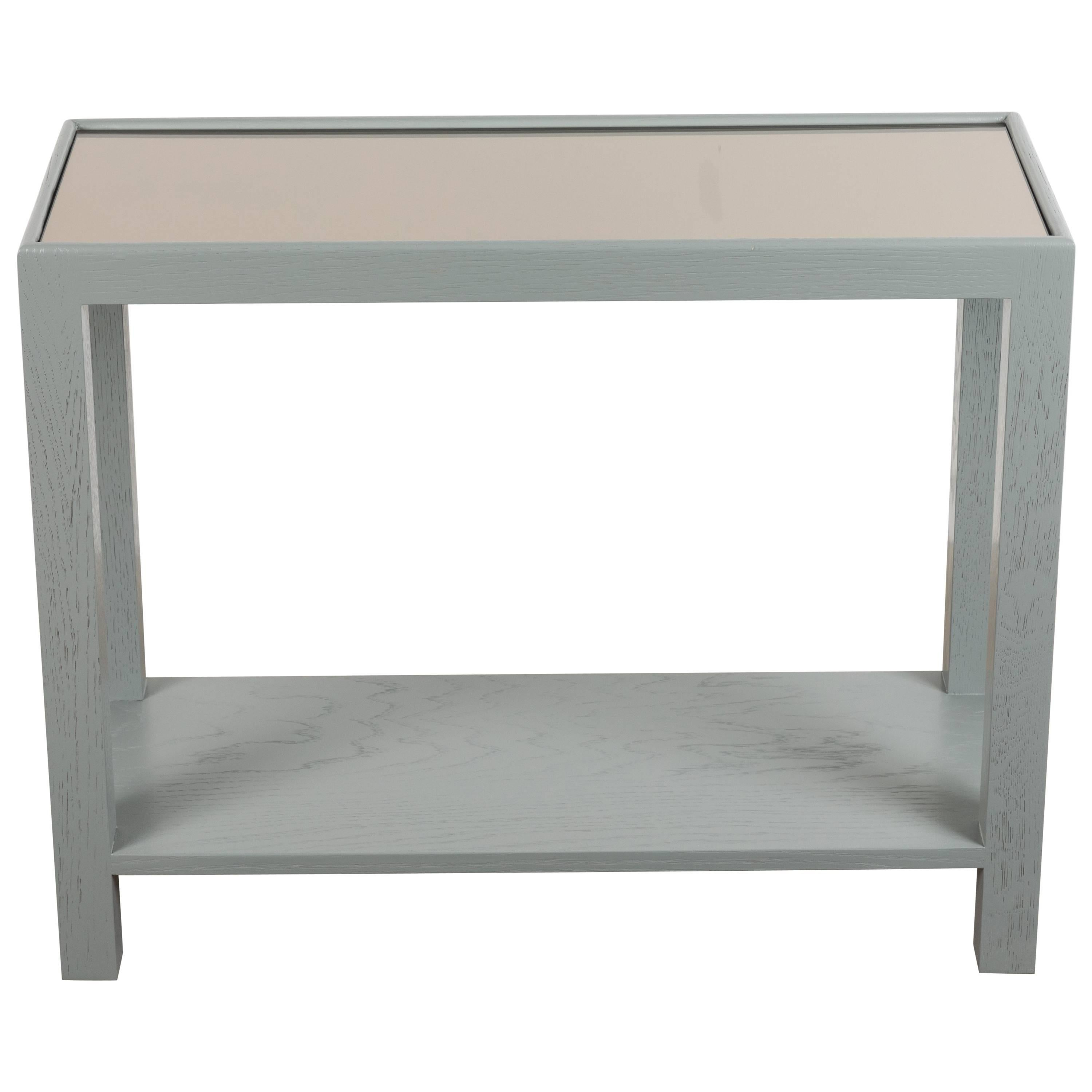Rectangle narrow side table by lawson fenning for sale at 1stdibs