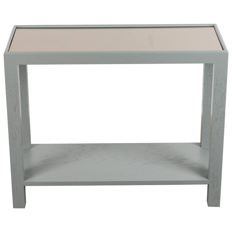 Rectangular Narrow Side Table by Lawson-Fenning For Sale
