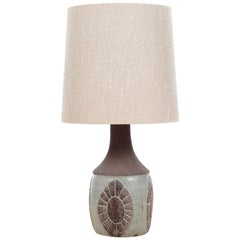 Mid-Century Modern Ceramic Large Lamp