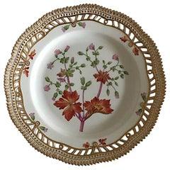 Royal Copenhagen Flora Danica Pierced Luncheon Plate #20/3554
