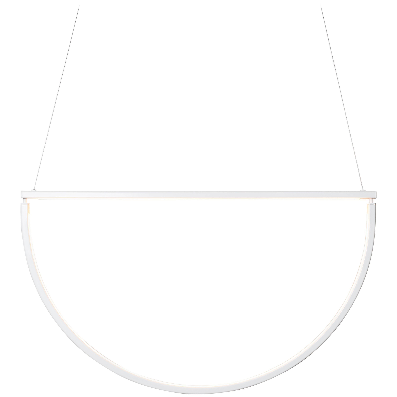 Chord Chandelier in White by Alexallen Studio