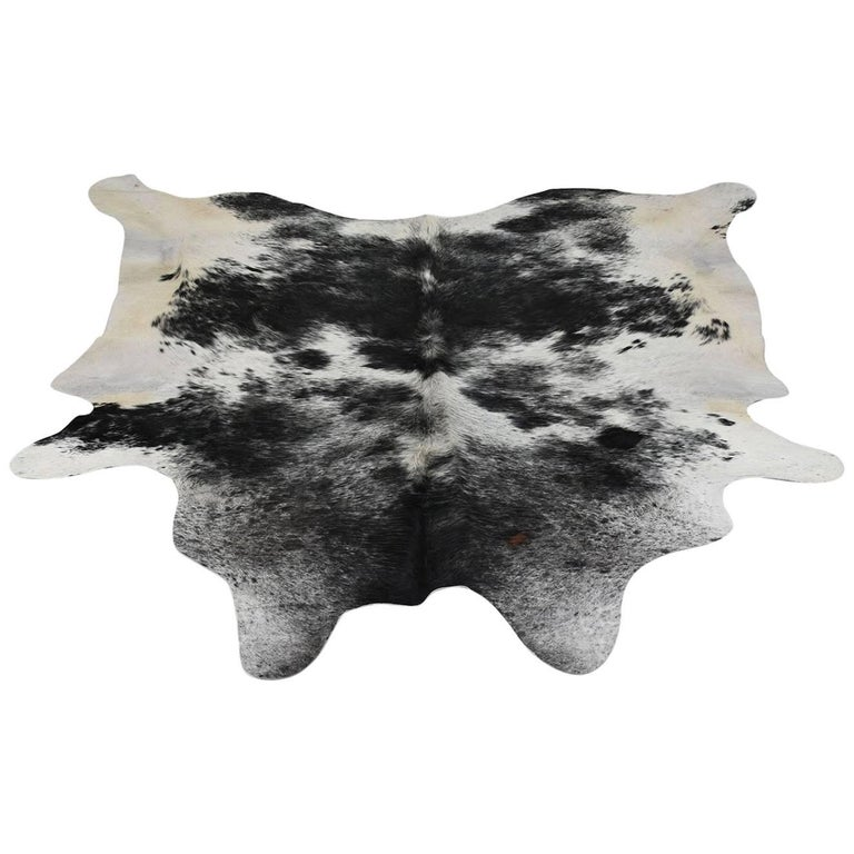 Two-Tone Cowhide Area Rug