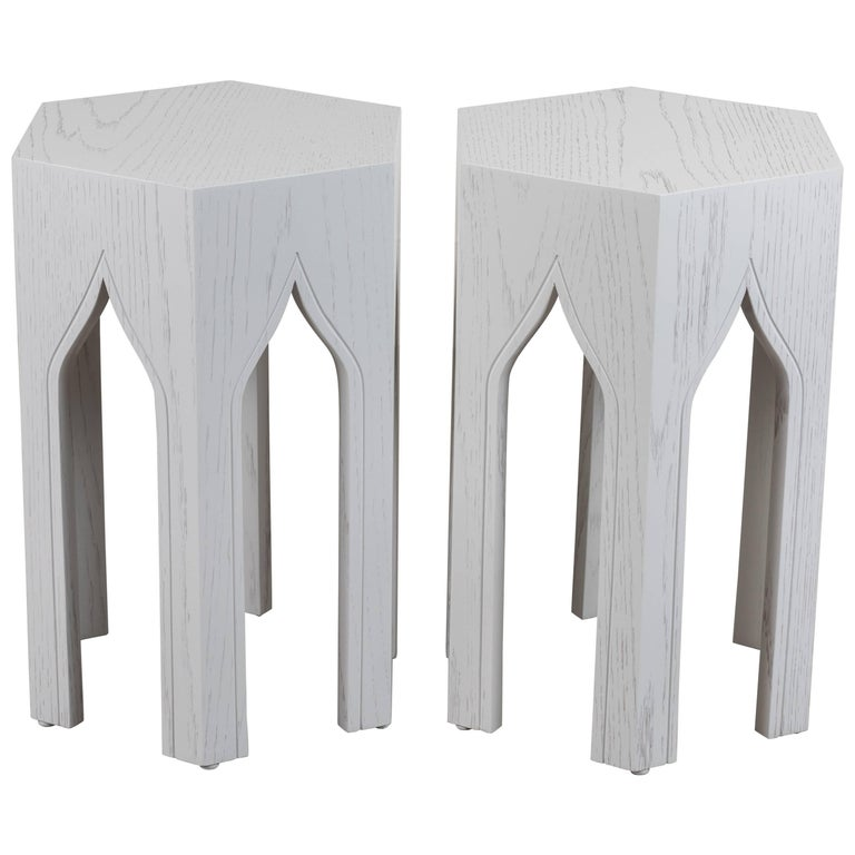 Pair of Small Tabouret Tables by Lawson-Fenning