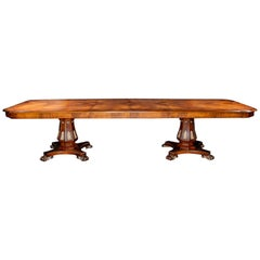19th Century Style Rectangle Dining Table designed by Renaissance Collection