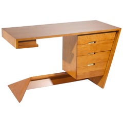 Dan Johnson for Hayden Hall Solid Maple Desk, 1947
